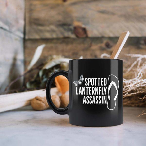 Spotted Lanternfly Assassin Flip Flop Mug
