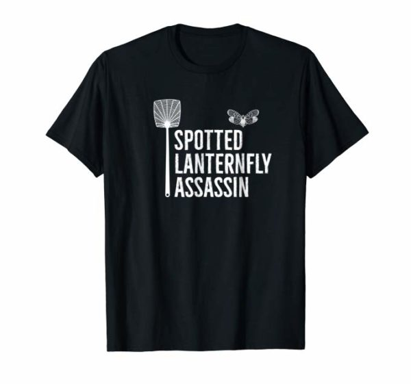 Spotted Lanternfly Assassin Black Tee