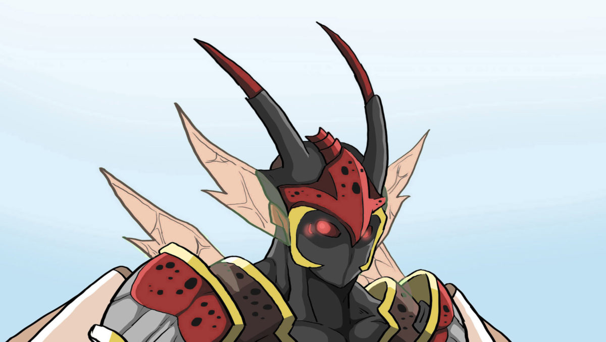 Anime Supervillain Spotted Lanternfly