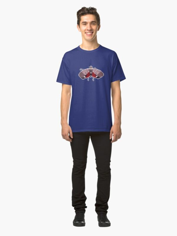 Blue Pixel Spotted Lanternfly Tee 2