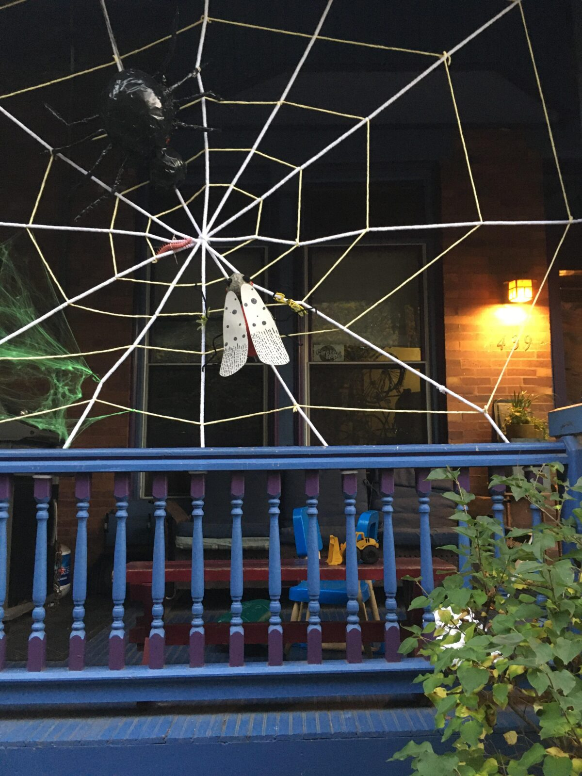Spotted Lanternfly Halloween Decoration