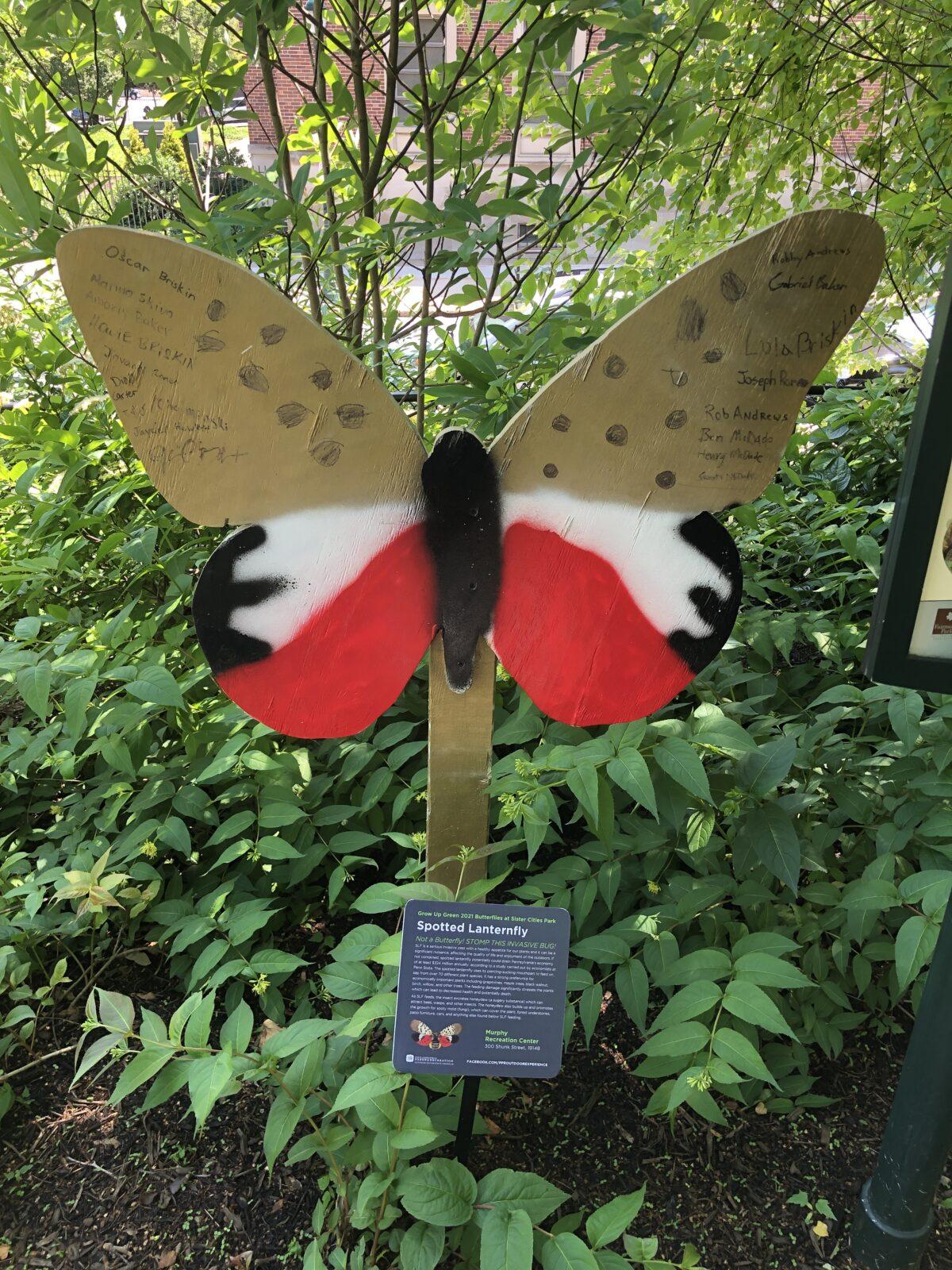 Spotted Lanternfly art exhibit
